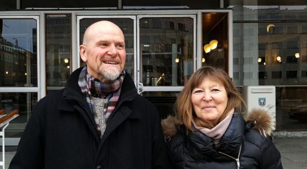 Keld Hvalsø og Lone Norlander