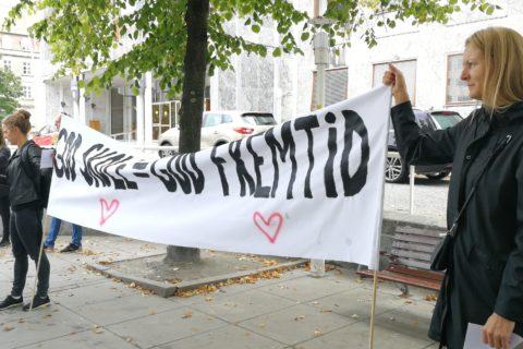 Protest-demonstration mod nedskæringer i Aarhus, 13.9..2018