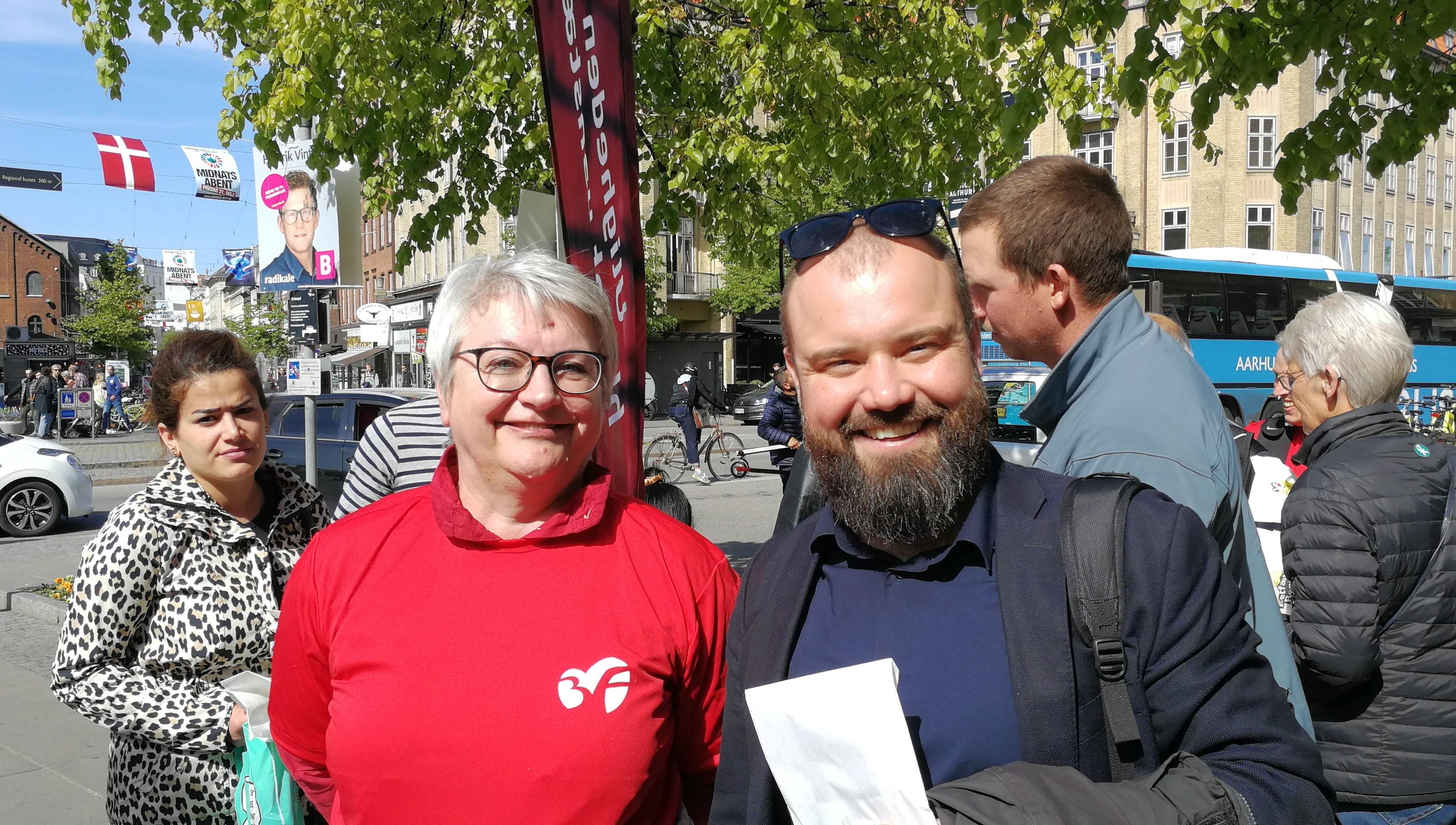 Nikolaj Villumsen og Randi Smitsdorf