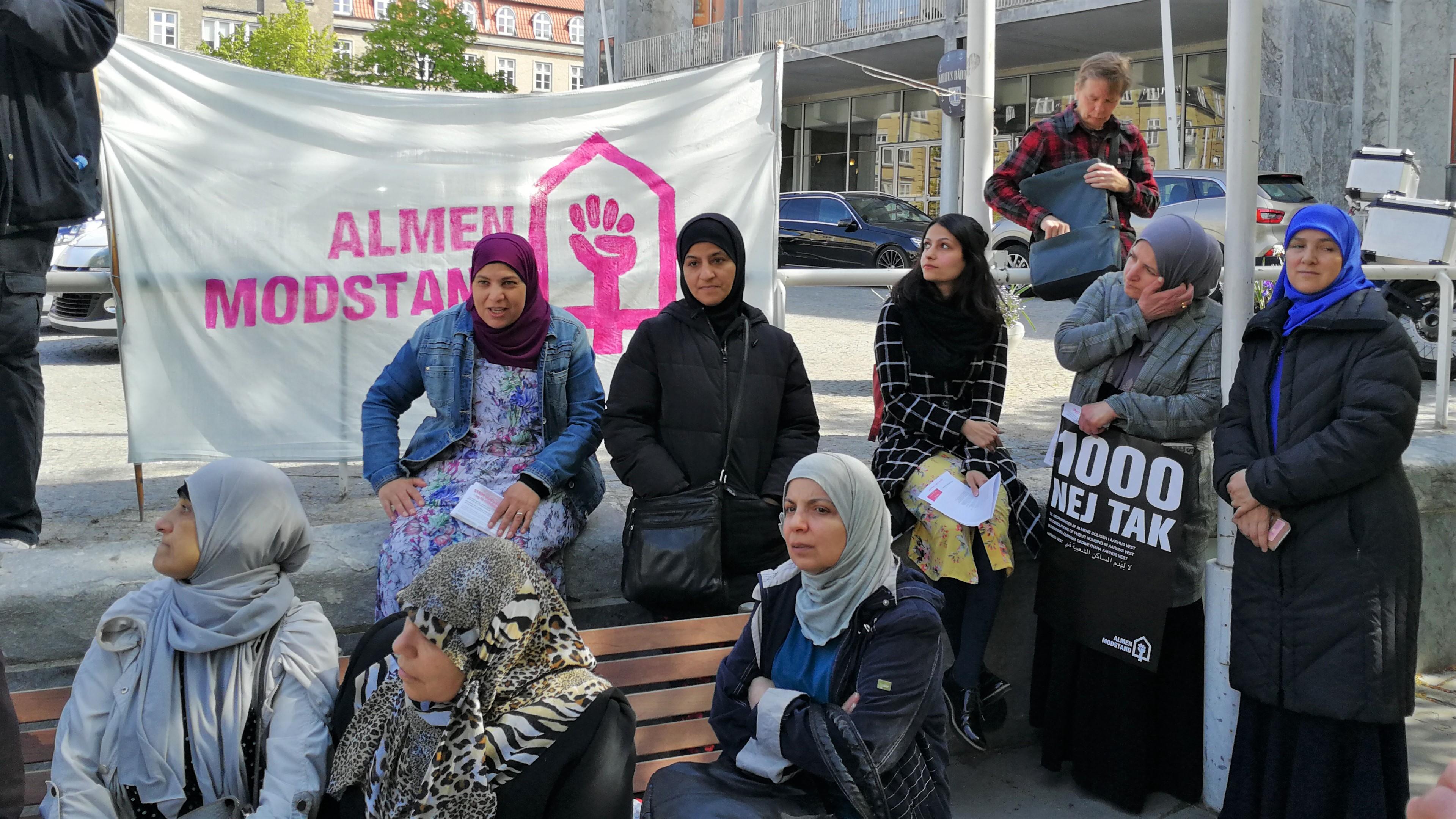 Demonstraton i Aarhus mod nedrivninger 15.5.2019