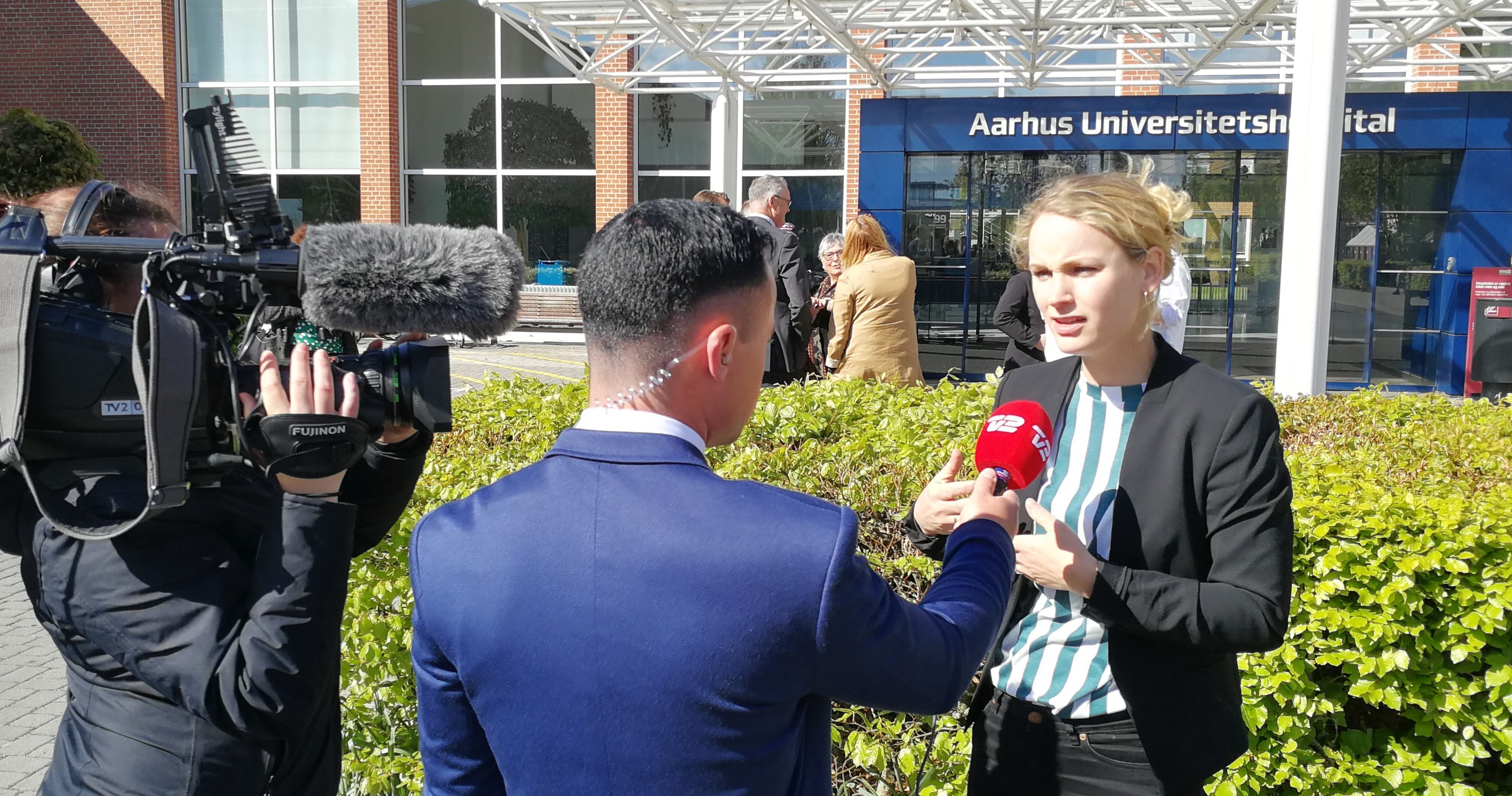 Pernille Skipper på Aarhus Universitetshospital