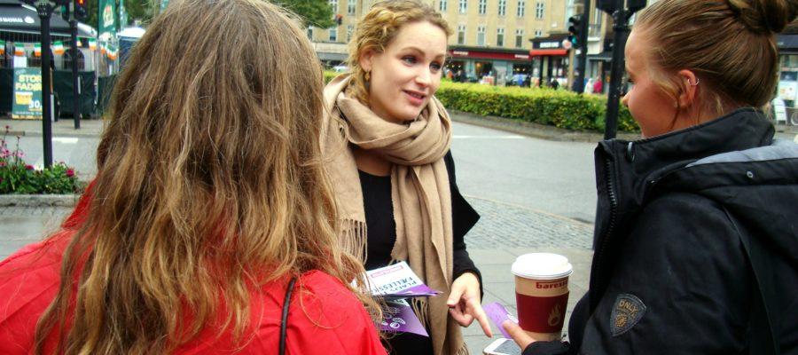Pernille Skipper i Aarhus, August 2017