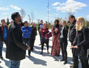 Diskussion med de lokale beboere i Gellerup / Toveshøj