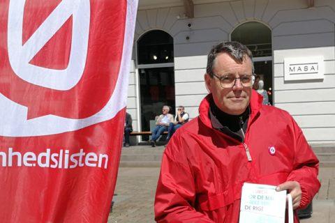 Søren Egge Rasmussen i valgkamp
