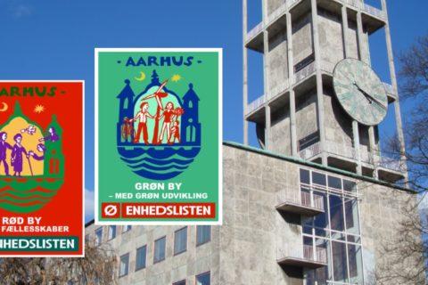 Aarhus: Rød by Grøn by
