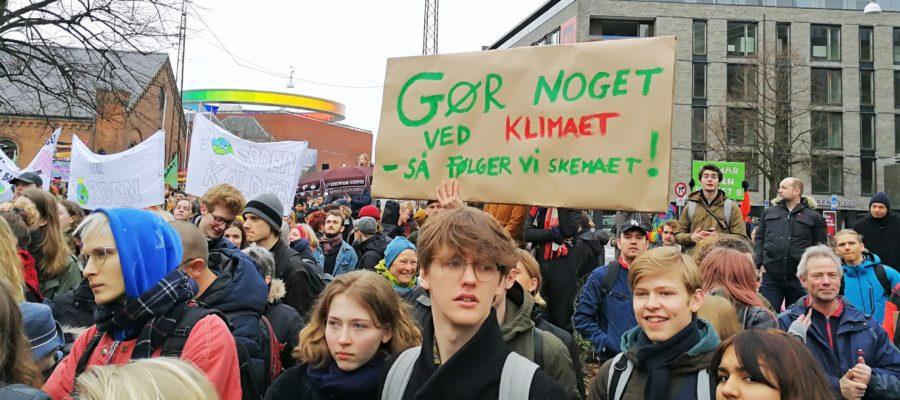Klima demo i Aarhus 15.3.2019