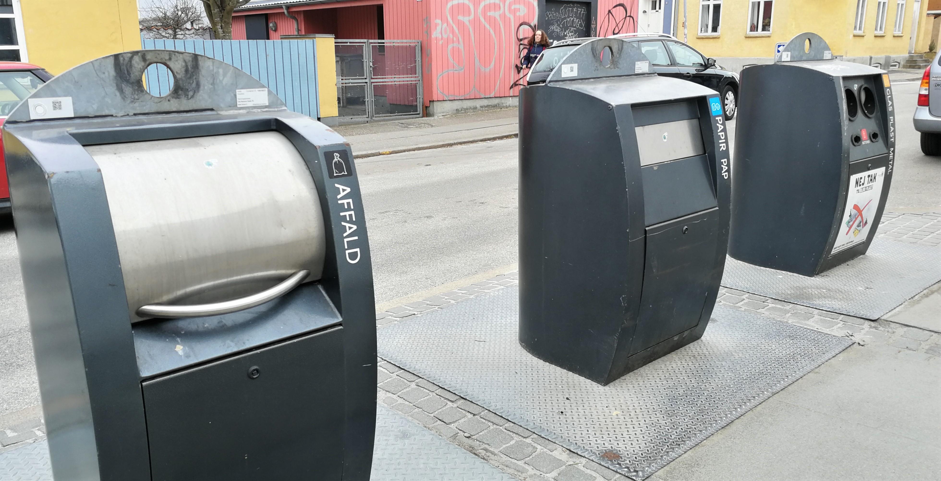 Affalds indsamling i Aarhus