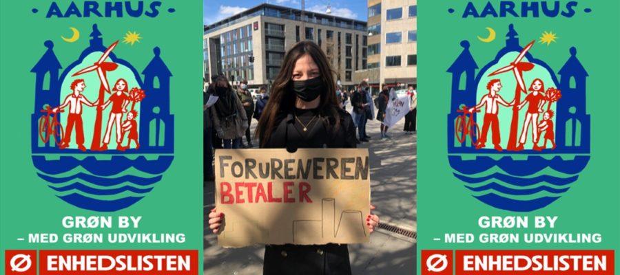 Laura Bryhl Klimademo Grøn By