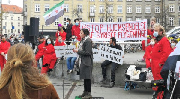 Syrien demo i Aarhus 21.4.2021