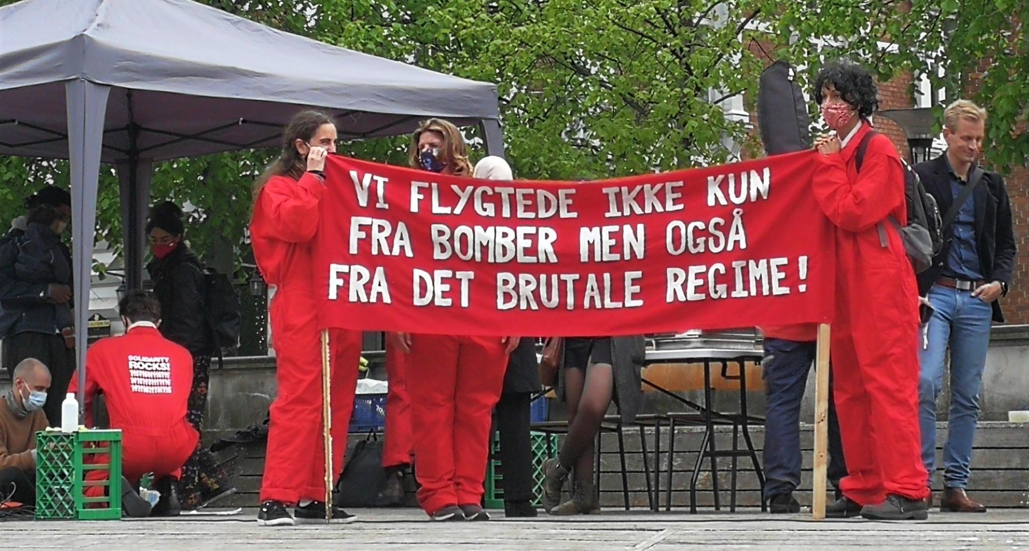 Syrien demo Aarhus 19.5.2021