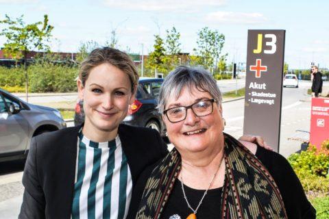 Else Kayser og Pernille Skipper AUH 11.5.2019