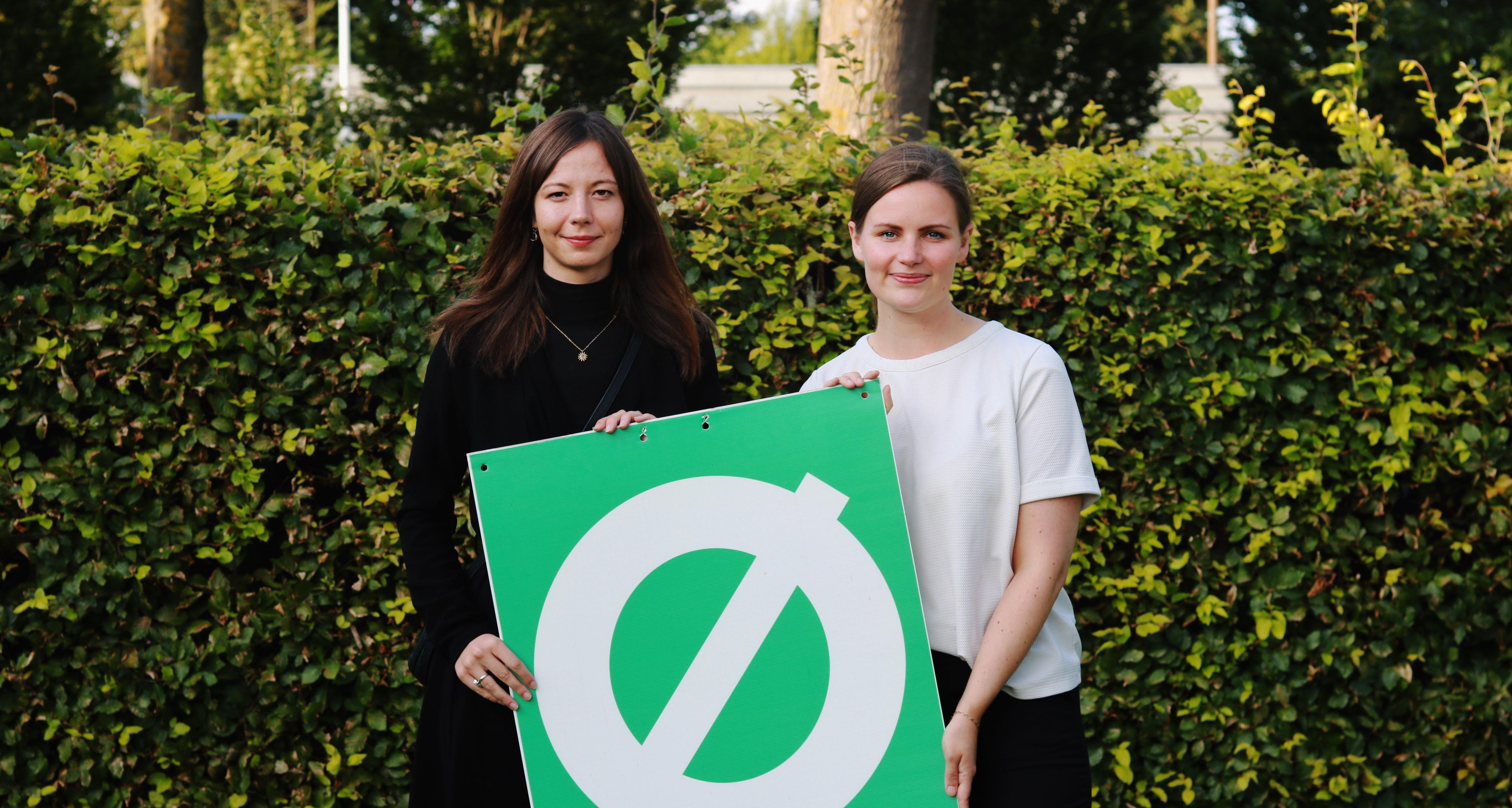 Laura Bryhl og Mai Villadsen